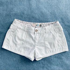 Roxy White Shorts